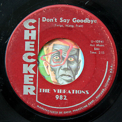 HEAR Vibrations 45 Dont Say Goodbye/Stranded In The Jungle doo wop R&B soul