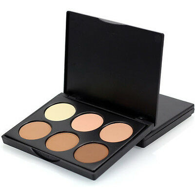 1 Palette, 6 eyeshadows / correttori / fondotinta /ombretti  make up in polvere