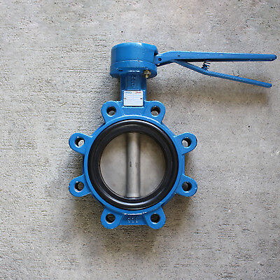 """5"""" Butterfly Valve Lug Style Flomatic Sylax - EPDM - S.S. Disc"""