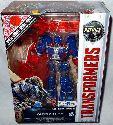 Transformers The Last Knight Premier Optimus Prime Voyager Action Figure MIB Toy