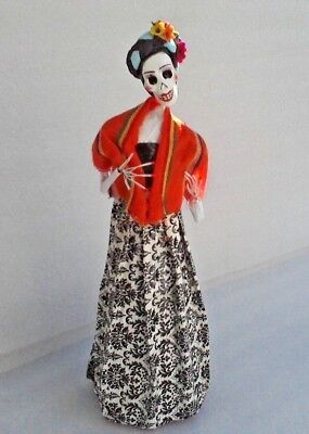 Handmade Catrina Day of the Dead Mexican Doll