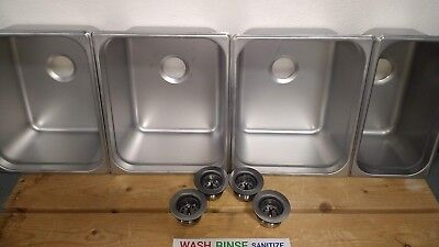 L-3 4 Compartment Sinks 1 Hand Wash & GIFTS! Portable Concession (Basins/Drains)