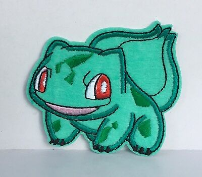 Pokemon Bulbasaur  Character Embroidered Appliqué Patch Sew Iron On  #152
