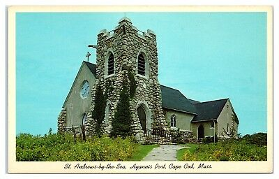 St. Andrews-by-the-Sea, Hyannisport, Cape Cod, MA Postcard