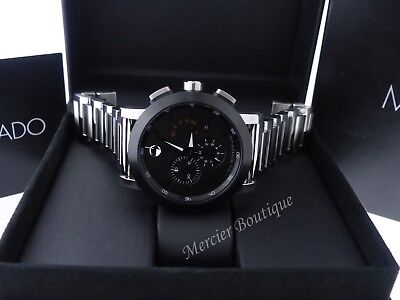c2693faaa PRE-OWNED MOVADO MUSEUM Sport Chronograph 44MM Men's Watch 0606792 ...