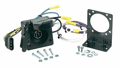 ~ Hopkins 47185 Vehicle Wiring Adapter Kit 7 Blade & 4 Flat Multi-Tow ~