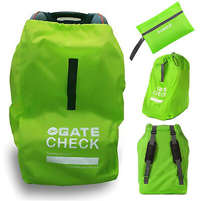 Car Seat Travel Bag Robbor Best Gate Check For Air Durable Double Strength Polyester