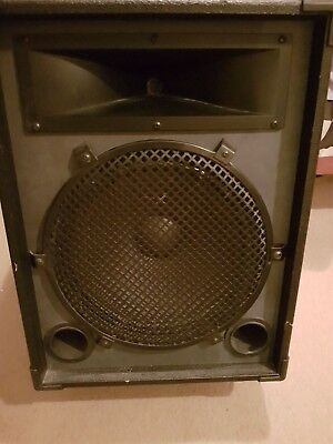"""Jade 200w 15"""" PA Speakers ,a pair, strongly built, great sound. Australian made."""