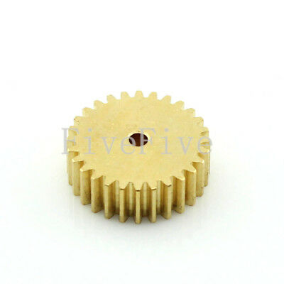 0.5M28T 2/3/4/5/6mm Bore Hole 28 Tooth Width 5 Module 0.5 Motor  Metal Spur Gear