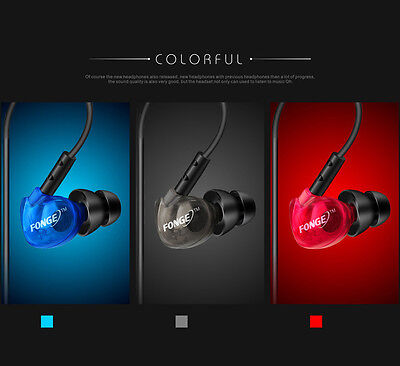 Hook headphones sports in ear over ear earphones with mic Remote Noise isolating