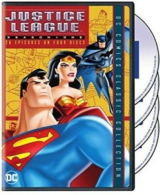 Justice League Of America: Season 1 (2018, DVD NEUF)4 DISC SET