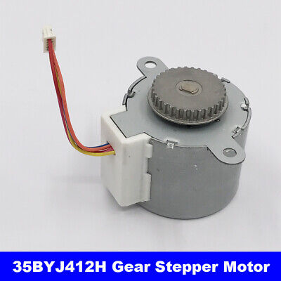 35BYJ412H Valve Gear Stepper Motor DC 12V 4-Phase 5-Wire Stepper Motor Reduction