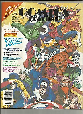 Comic Features, May 1994, Secret Wars, With poster,, e1