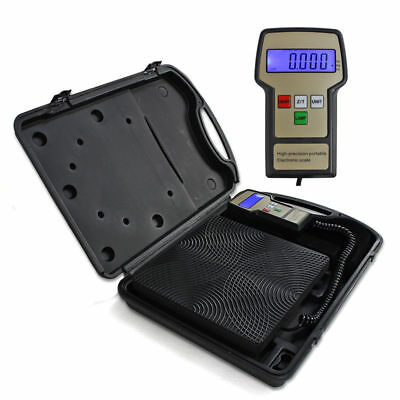 32-113℉ 220lbs Electronic Refrigerant Charging Scale Digital for HVAC w/ Case