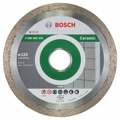 Bosch Angle Grinder Diamond Cutting Disc Blade Standard for Ceramic 125 mm New