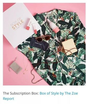 NEW!! Rachel Zoe Box Of Style Spring 2018 Entire Complete Whole Unopened Box