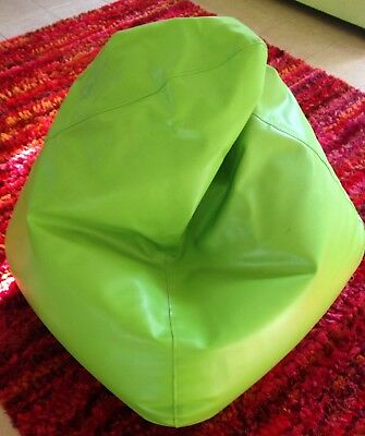 King Kahuna Classic Bean Bag Matt Green Vinyl
