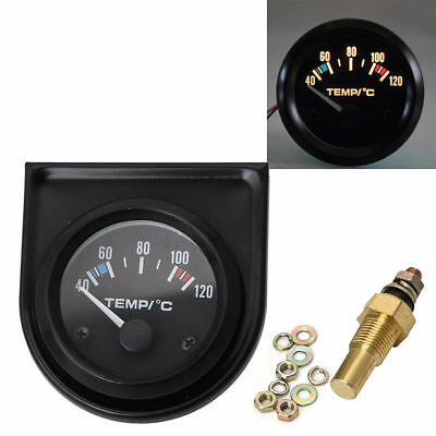 "Universal Car Auto 2"" 52mm Digital LED Water Temp Temperature Gauge Kit 40-120°"