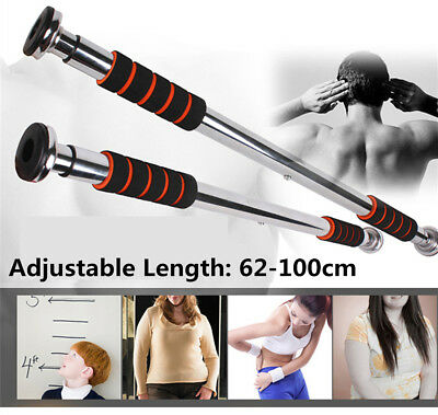 Home Door Chin Up Bar Push Pull Up Training Body Exercise Fitness workout Gym UK