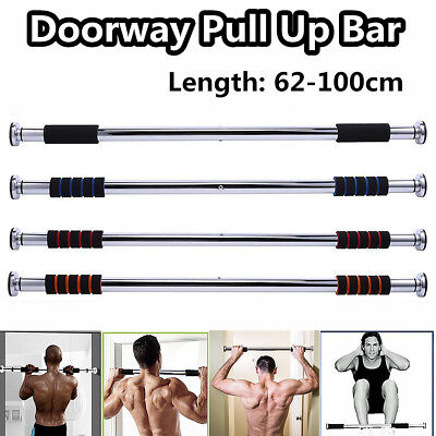 Home Door Chin Up Bar Push Body Exercise Pull Sit Up Training Fitness workout UK