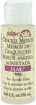 Plaid:Craft 694 FolkArt Crackle Medium-2oz (6Pk)