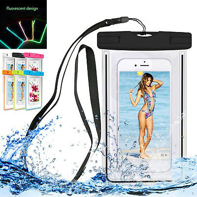 Waterproof Dry Armband Pouch Bag Case Cover For Apple iPhone X/7/8/6/5 Plus/SE 2