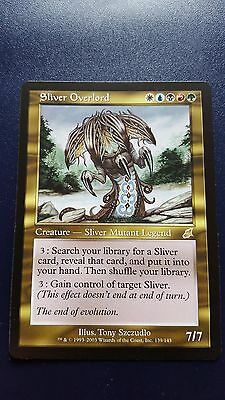 1x SLIVER OVERLORD - Rare - Scourge - MTG - NM - Magic the Gathering
