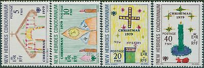 New Hebrides 1979 SG279-282 Christmas set MNH