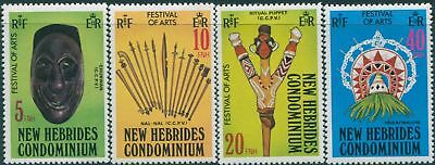 New Hebrides 1979 SG275-278 Festival of Arts set MNH