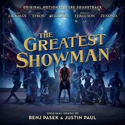 The Greatest Showman by Various Artists (Audio CD) (Soundtracks) (Pop) **NEW**