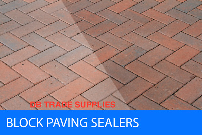 Wet look Driveway sealant Drive sealant -block paving  patio sealer 20 LTR.