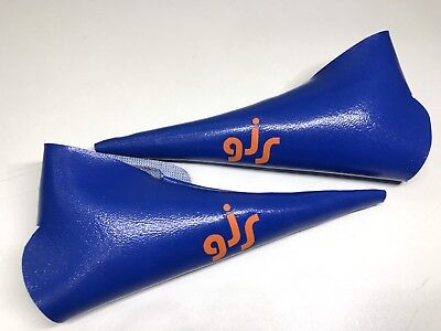Lever Cover Vinyl Oldschool BMX GJS SE Racing P.K. Ripper Quadangle Kastan Blue