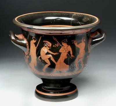 Important Greek Attic Bell Krater - Pothos Painter Lot 17