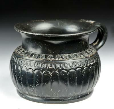 Greek Attic Blackware Drinking Cup - Highly Decorated Lot 23