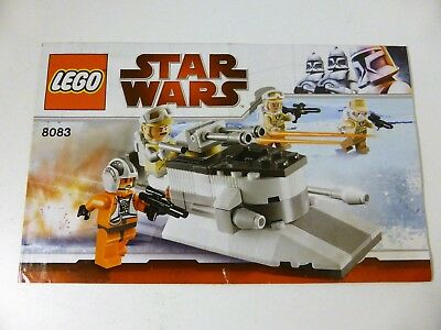 Lego Star Wars 8015 Assassin Droids Battle Pack Instructions Only