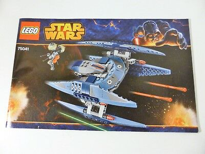 Lego Star Wars Instructions Manual Only 75015 450 Picclick Uk