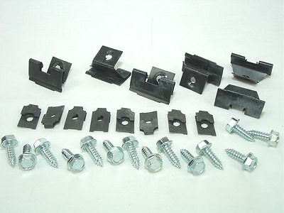 1957 Chevrolet All Models Grill Mounting Clip Set Show Quality