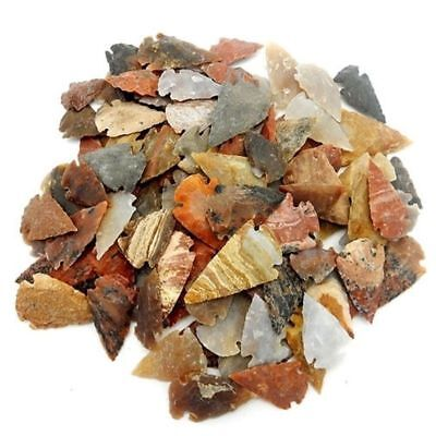 25 Jasper Arrowhead Crystal Stones Authentic Arrowheads Colorful Red Super Large