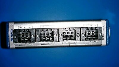 Great NI 9219 4 Channel Universal Analog Input Ch to Ch Isolated