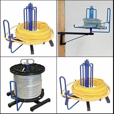 CABLE DISPENSER WIRE Spooler Armored Floor Stud Extension Cord Reel ...