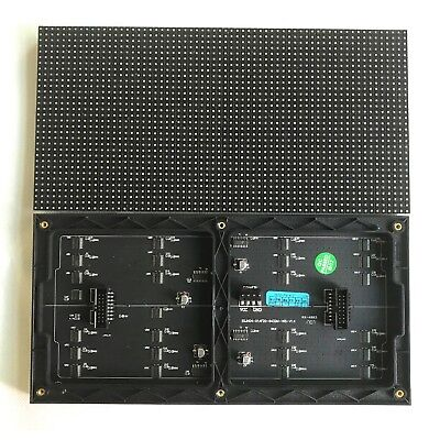p4 full color led display module indoor rgb 64*32 pixels HID screen 256*128mm