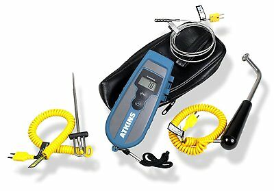 Cooper-Atkins 93013-K EconoTemp Thermocouple Kit, 3 Probes and 1 Soft Carrying