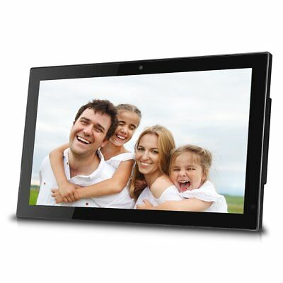 Sungale 19-inch WiFi Cloud Digital Photo Frame w/ Built-in Front Camera for 10GB