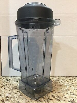Vitamix 64 oz wet container blender jar w/ blade and cap