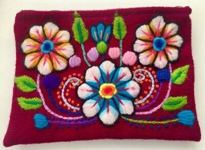 Peruvian Inca Clutch / Small Textile Handbag Purse