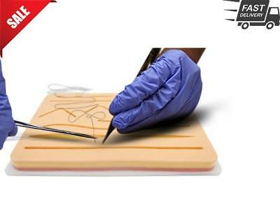 Your Design Medical Suture Pad Practice Training Combo Kit 3-Layer Pocket Tool
