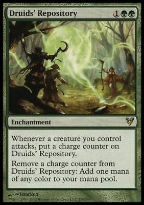 1x DRUIDS' REPOSITORY - Rare - Avacyn Restored - MTG - NM - Magic the Gathering