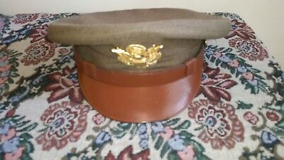 U.S. Army Officer Visor Hat - WWII
