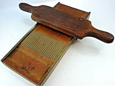 Antique 1800s Apothecary Medicinal Pill Rolling Machine #359  Rare & Exceptional