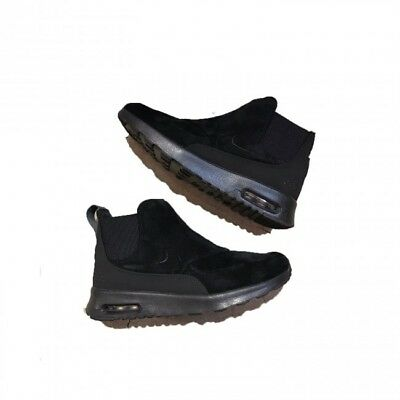 06795af77e68 Nike Air Max Thea Mid Women s Lifestyle Shoes 859550-002 Black Metl Pewter  Sz